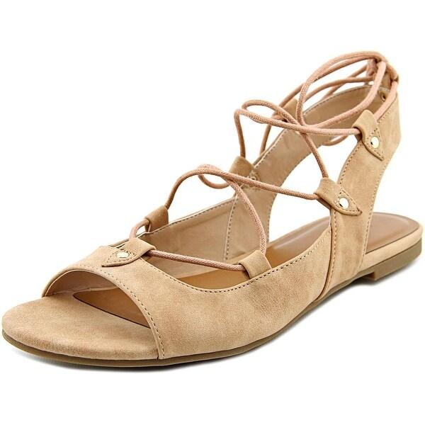 Indigo Rd. Cenie 2 Women Open-Toe Synthetic Nude Slingback Sandal