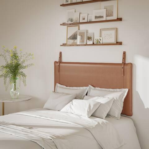 Upholstered Wall Hanging Panel Headboard