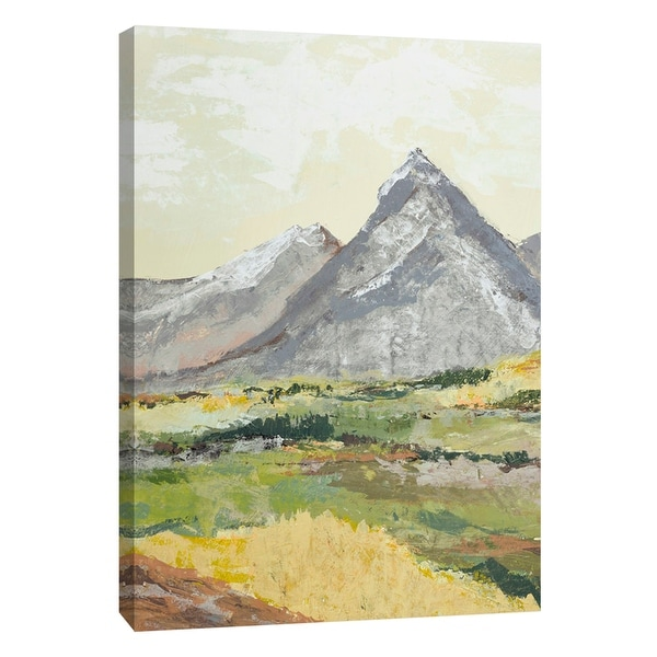 "PTM Images 9-108526 PTM Canvas Collection 10"" x 8"" - ""Open Spaces 8"" Giclee Mountains Art Print on Canvas"