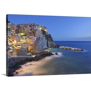 Premium Thick-Wrap Canvas entitled Italy, Cinque Terre, La Spezia Province