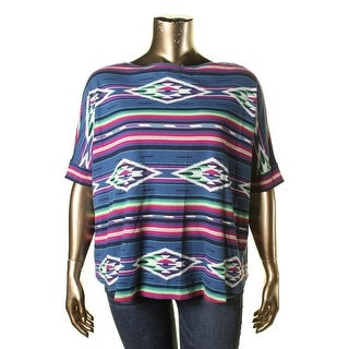 American Living Womens Pullover Top Thermal Shirt Sleeves