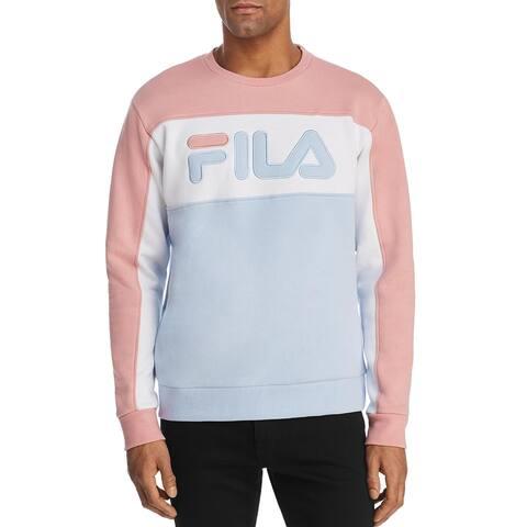 Fila Mens Lesner Sweatshirt Fitness Running