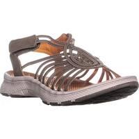 BareTraps Olissa Strappy Sandals, Mushroom - 9 us