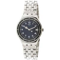 Swatch Edgar  Silver Stainless-Steel Swiss Quartz Fashion Watch