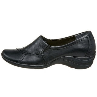 Hush Puppies Womens Verse Leather Closed Toe Loafers Loafers