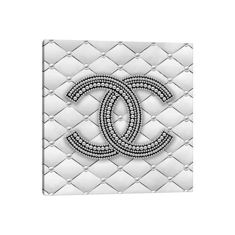 "iCanvas ""CC Pearl Logo I"" by Martina Pavlova Canvas Print"