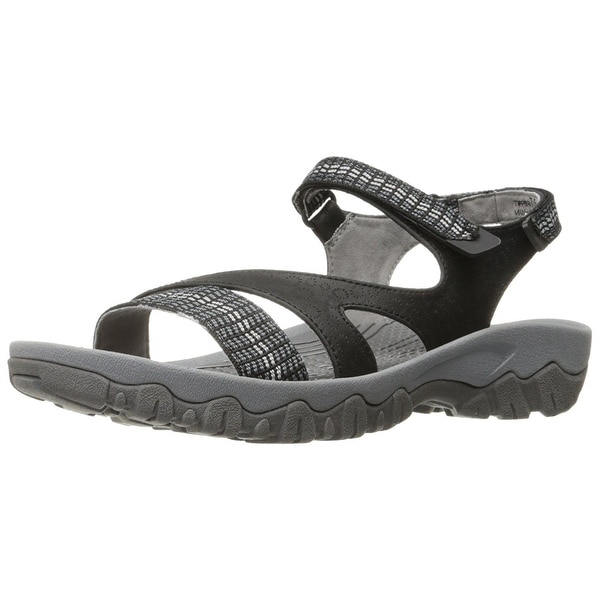 Bare Traps Womens Tipper Fabric Open Toe Casual Sport Sandals
