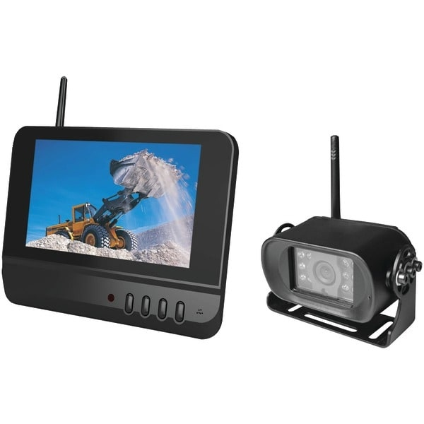 "Boyo Vtc700R 7"" 2.4Ghz Digital Wireless Rearview System"
