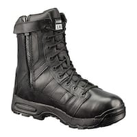 "Original S.W.A.T. Men's Air 9"" All Leather Tactical Waterproof Side Zip Black"