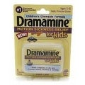 Dramamine for Kids Chewable Tablets Grape Flavor 8 Tablets - Thumbnail 0