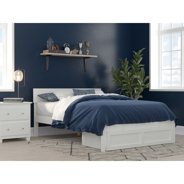 Boston Bed with Foot Drawer. Opens flyout.