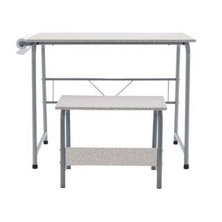 Offex Project Center, Kids Craft Table with Bench Gray - Gray|https://ak1.ostkcdn.com/images/products/is/images/direct/908616847c0a97948f167fceedd9adc607890196/Offex-Project-Center%2C-Kids-Craft-Table-with-Bench-Gray---Gray.jpg?impolicy=medium