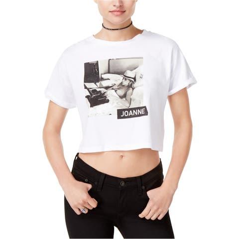 Lady Gaga Womens Joanne Tour Ss Graphic T-Shirt