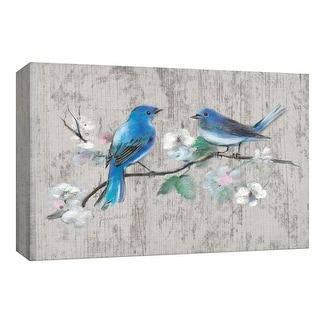 "PTM Images 9-148185  PTM Canvas Collection 8"" x 10"" - ""Song of Spring II"" Giclee Birds Art Print on Canvas"