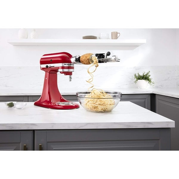 KitchenAid KSM1APC 5 Blade Spiralizer Attachment with Peel, Core and Slice