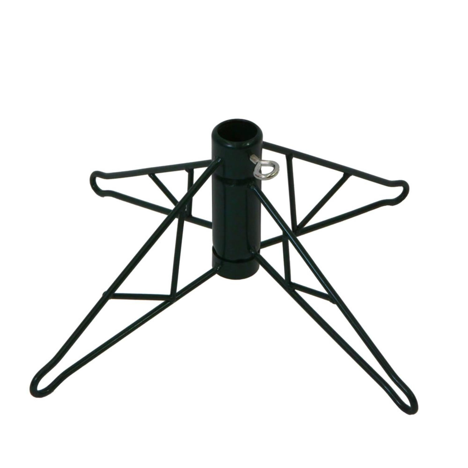 48 Green Artificial Foldable Christmas Tree Stand Overstock 20825623