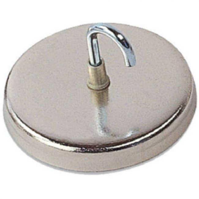 Master Magnetics 07218 Magnetic Handi-Hook, Chrome Plated
