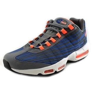 Nike Air Max 95 JCRD Men Round Toe Canvas Gray Sneakers