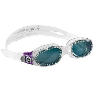 Aqua Sphere Women's Kaiman Smoke Lens Swim Goggles - Translucent/Purple