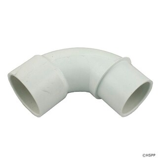 "90 Elbow, Sweep, Waterway, 1-1/2"" Slip x 1-1/2"" Spigot"