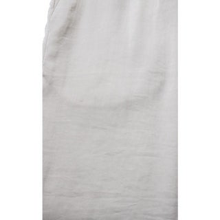 Calvin Klein Womens Satin Flat Front Dress Pants - XL