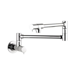 Hansgrohe 4057 Talis S Wall Mounted Double-Jointed Pot Filler - Includes Lifetime Warranty