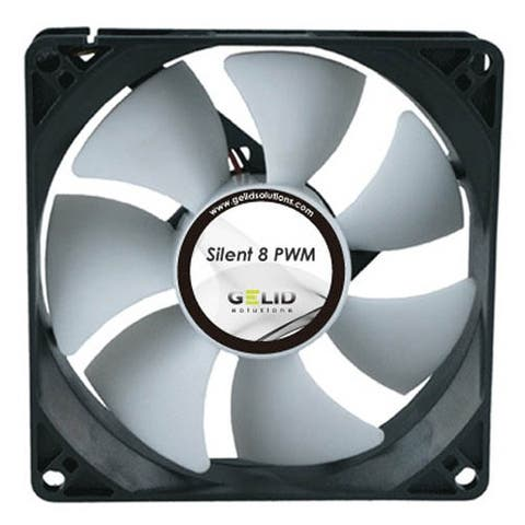 Gelid FN-PX08-20 Silent 8 PWM 80mm 2000RPM Case Fan w/ PWM & 4-Pin connector NEW