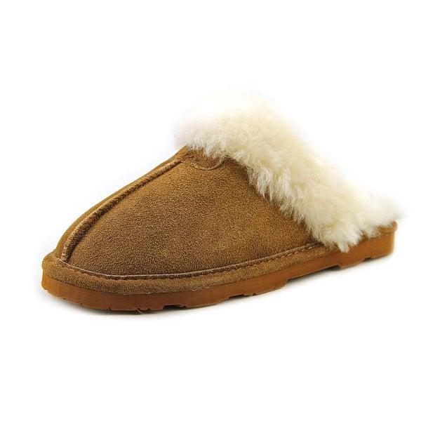 Bearpaw Loki Round Toe Suede Slipper