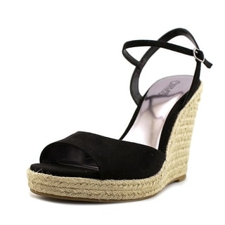 Carlos by Carlos Santana Lillith    Open Toe Canvas  Wedge Sandal