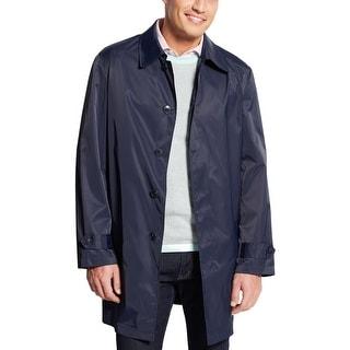 Ralph Lauren RL Navy Blue Packable Raincoat Small Windbreaker