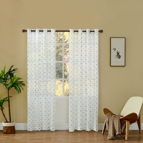 Lyndale Dash Sheer Curtain