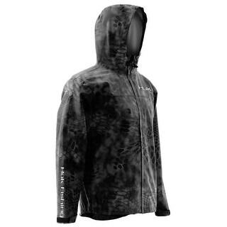 Huk Men's Camo Kryptek Typhon Small Packable Jacket