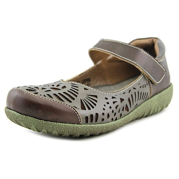 Spring Step Shrive Women Round Toe Leather Mary Janes
