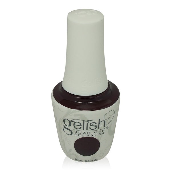 Gelish - Soak-Off Gel Polish Burgundy Red Creme-Black Cherry Berry