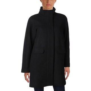 Vince Camuto Womens Coat Wool Long