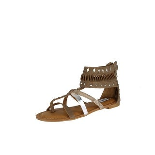 Not Rated Women's Lemon Twist Sandal - Taupe