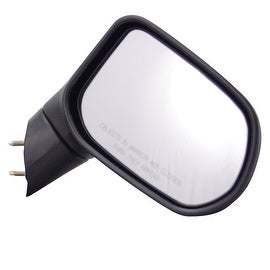 Pilot Automotive TYC 4720321 Black Passenger/ Driver Side Power Non-Heated Replacement Mirror for Honda Civic 06-08
