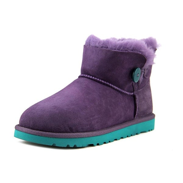 b4ce712e20e Shop Ugg Australia Mini Bailey Button Girl Pet Boots - Free Shipping ...