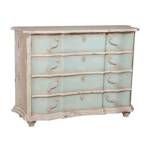 "GuildMaster 643530 Duchess 59"" Wide 4 Drawer Mahogany Dresser"