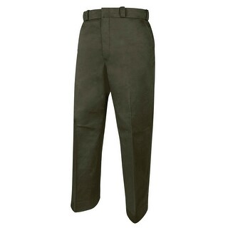 "Elbeco Men's Pant Tex-Trop Trousers, Spruce Green w/1"" Grey Stripe"