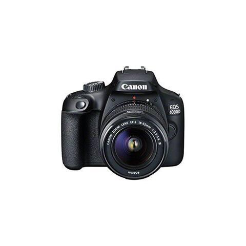 Canon EOS 4000D DSLR Camera EF-S 18-55 mm f/3.5-5.6 III Lens - Intl Model