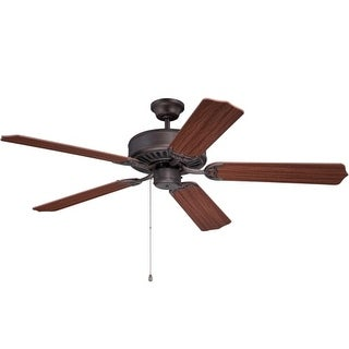 "Craftmade C52 Pro Builder 42"" or 52"" 5 Blade Ceiling Fan - Requires Blade Selection"