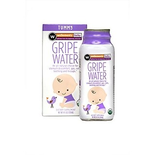 Wellements Organic Gripe Water for Colic, 4 Fluid Ounce