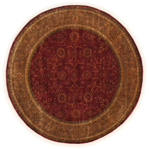 SAFAVIEH Couture Hand-knotted Ganges River Shantell Traditional Oriental Wool Rug with Fringe