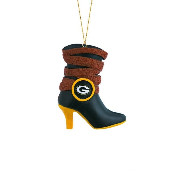 Team Sports America Polystone Green Bay Packers Boot Ornament