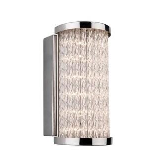 Artcraft Lighting AC7250 Waterfall Single Light LED Bathroom Sconce
