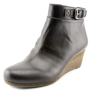 Dr. Scholl's Daina Women  Open Toe Synthetic Black Wedge Heel
