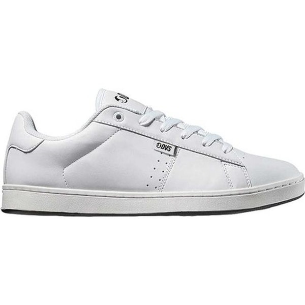9cb29aaa88f2 Shop DVS Men s Revival 2 Skate Shoe White Leather - Free Shipping On Orders  Over  45 - Overstock - 20473858