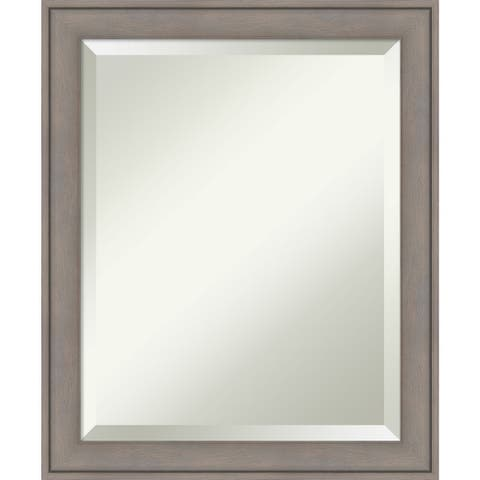 Bathroom Mirror, Graywash