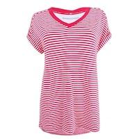 e716bad8 Shop Tommy Hilfiger Mens Big & Tall Graphic T-Shirt Striped Logo ...
